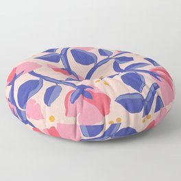 Lisbon Floral Floor Pillow