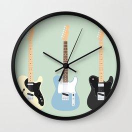 Flat Telecaster custom 7 Wall Clock