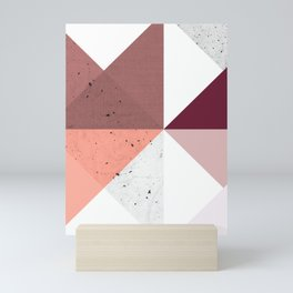 Modern Geometric 19/3 Mini Art Print