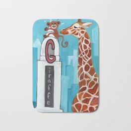 G for Giraffe - Alphabet City  Bath Mat