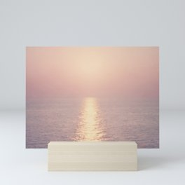 cashmere rose sunset Mini Art Print