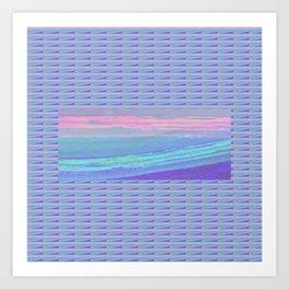Piha Wave 1 Art Print