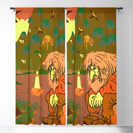 Norwegian giant  Troll 6 Blackout Curtain