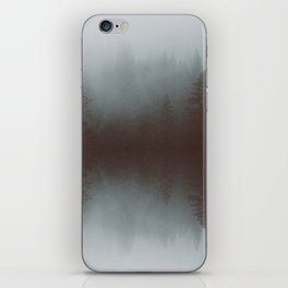 Forest reflections iPhone Skin