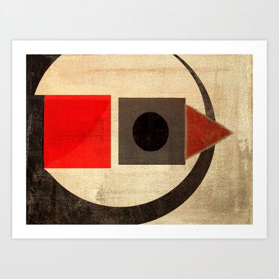 Sushi Bird Art Print