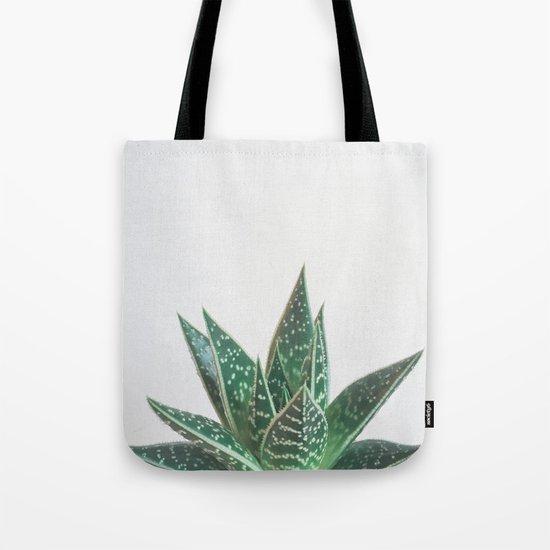 Aloe Tiki Tote Bag