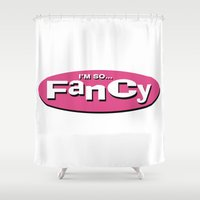 clueless Shower Curtains featuring Fancy by T-Hype (julianajace)