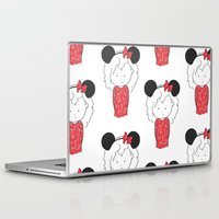 minnie Laptop & iPad Skins featuring Minnie 5 by Little Moon Dance