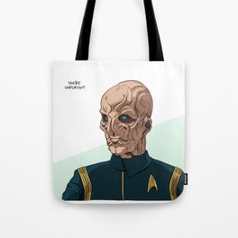 You're Important Tote Bag