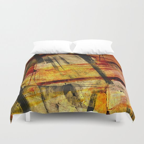 Texture abstract 2016/001 Duvet Cover