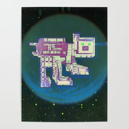 Spatial Bot Dog Poster
