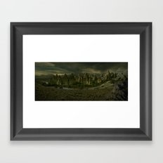 Amber Lake Framed Art Print