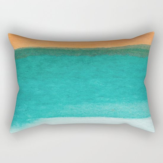 Water and color 11 Rectangular Pillow