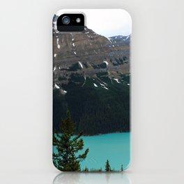 Peyto Lake Panorama iPhone Case