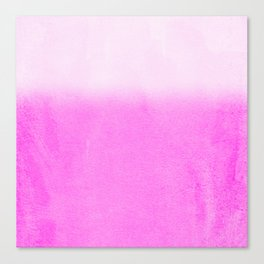 FADING PINK Canvas Print