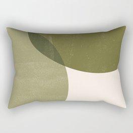 Minimal Semicircles Rectangular Pillow