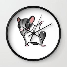 Funny Dabbing Sugar Glider Pet Dab Dance Wall Clock
