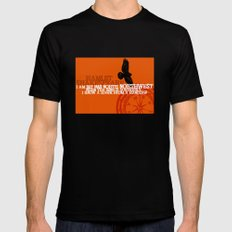 Hamlet-  North by Northwest - Madness - Shakespeare Quote Art MEDIUM Black Mens Fitted Tee