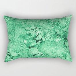 Green Marble texture Rectangular Pillow