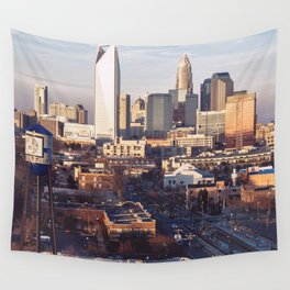 Queen City Shower Curtain Wall Tapestry