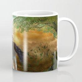 Beautiful brown horse Coffee Mug