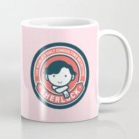 Sherlock - Cute Sherlock Holmes in Red Mug
