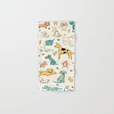Dogs Dogs Dogs Hand & Bath Towel
