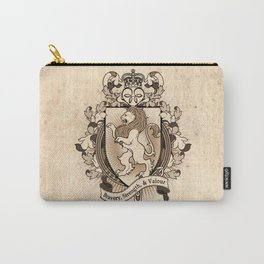 Lion Coat Of Arms Heraldry Carry-All Pouch
