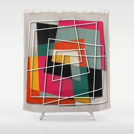 Fill & Stroke III Shower Curtain