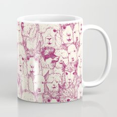 just alpacas cherry pearl Mug