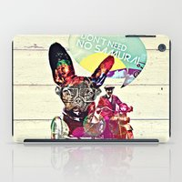 french iPad Cases featuring FRENCH by DON'T NEED NO SAMURAI