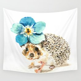 When life gets a little prickly, put a flower on it Wall Tapestry