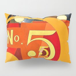Charles Demuth - I Saw the Figure 5 in Gold - Digital Remastered Edition Pillow Sham