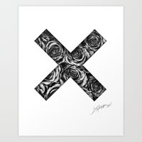 the xx Art Prints featuring XX  by Spider.Money