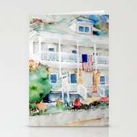 american beauty Stationery Cards featuring American Beauty by Bowles Fine Paintings