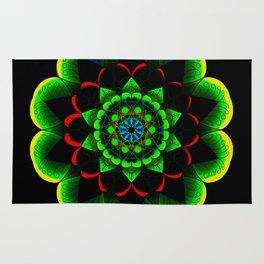 Neon lotus Rug