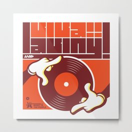 UNDO | Music to the people 13 Metal Print