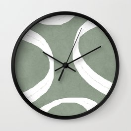 Abstract Lines I Wall Clock