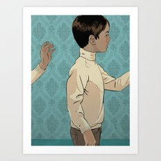 Looped world Art Print