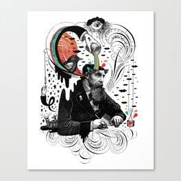 Creative Slavery Canvas Print