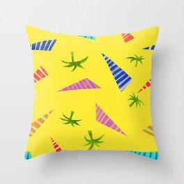 Strawberry brows Throw Pillow