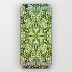 Kaleidoscope of Rainforest Flowers iPhone & iPod Skin