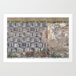 Old Greece House Art Print
