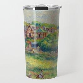 """Auguste Renoir """"Le châlet de Blanche Pierson à Pourville"""" Travel Mug"""