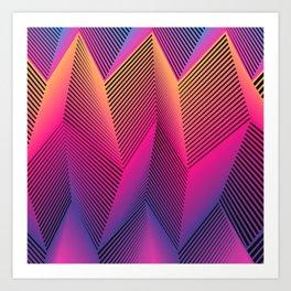 Sooo sharp Art Print