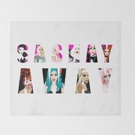 SASHAY AWAY feat. RuPaul's Drag Race Queens Throw Blanket