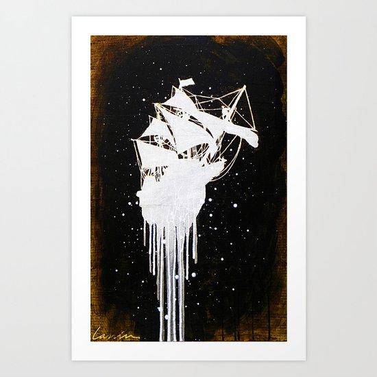 """Le Dernier Voyage"" Art Print"