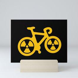 Radioactive Bicycle Mini Art Print