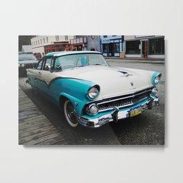1956 Ford Fairlane Victoria Metal Print