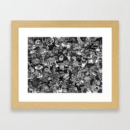 Zoo. Framed Art Print